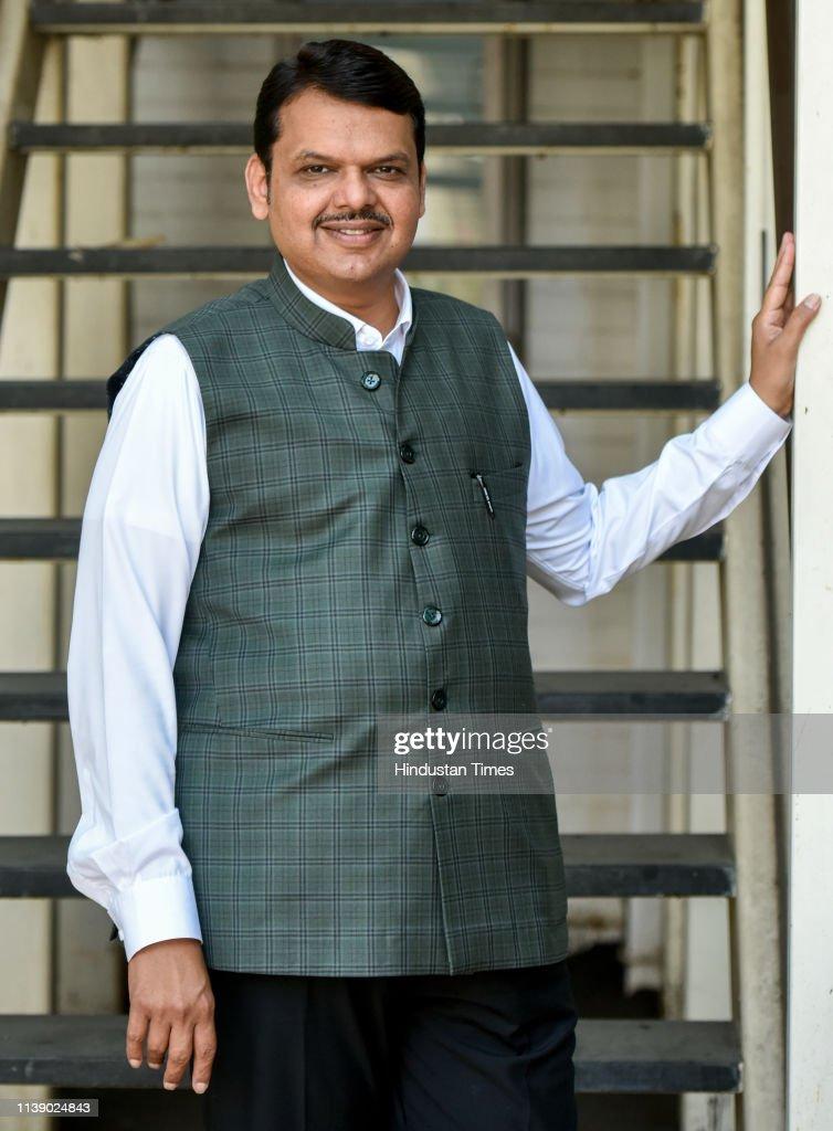 IND: HT Exclusive: Profile Shoot Of Maharashtra CM  Devendra Fadnavis
