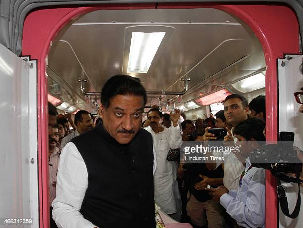 Maharashtra Chief Minister Prithviraj Chavan inaugurated India's first monorail that will cut the travel time between Mumbai's trafficsnarled...