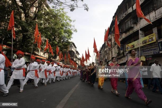 Maharashtrian Festival Gudi Padwa Festival Mumbaikar's celebrate Guddi Padva procession at Girgaon in Mumbai