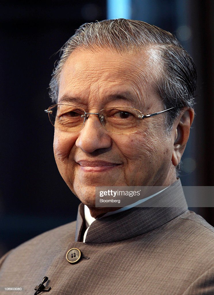 Interview With Former Malaysian Prime Minister Mahathir Mohamad