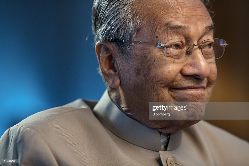 Interview With Malaysia's Former Prime Minister Mahathir Mohamad As He Quits Ruling Party As Spat With Najib Worsens