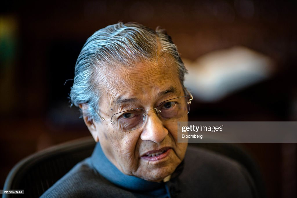 Former Malaysia Prime Minister Mahathir Mohamad Interview