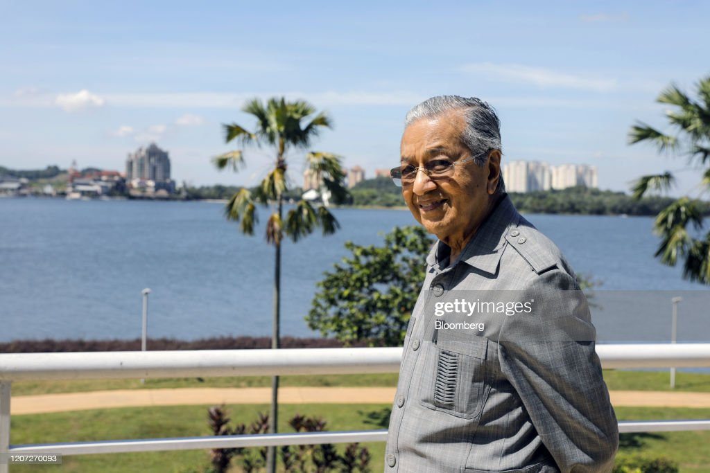 Mahathir Says Opposition Lacks Votes to Oust Malaysia Leader : News Photo