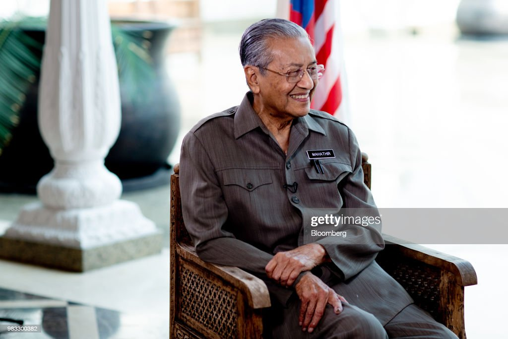 A Morning with Malaysia PM Mahathir Mohamad