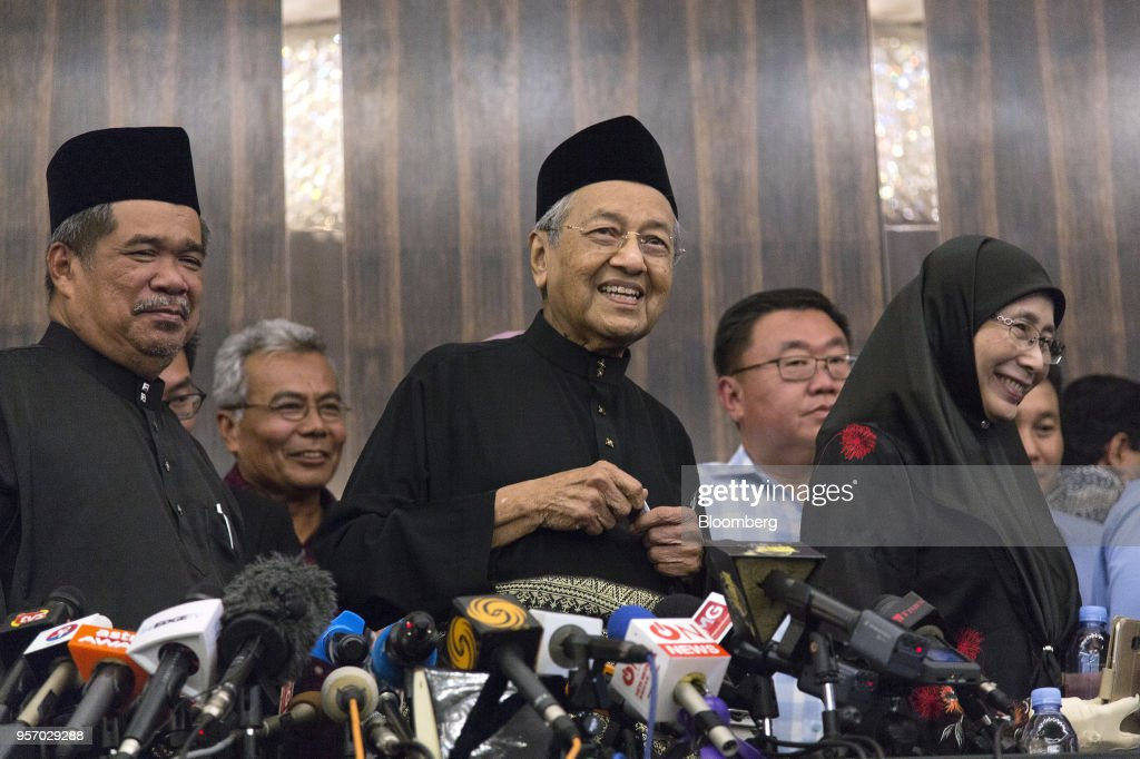 Incoming Prime Minister Mahathir Mohamad News Conference