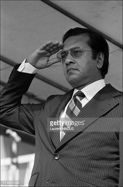 Mahathir Mohamed, Malaysian Prime Minister in , Malaysia on December 14, 1982