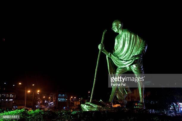 Mahatma Gandhi Statue in Portblair