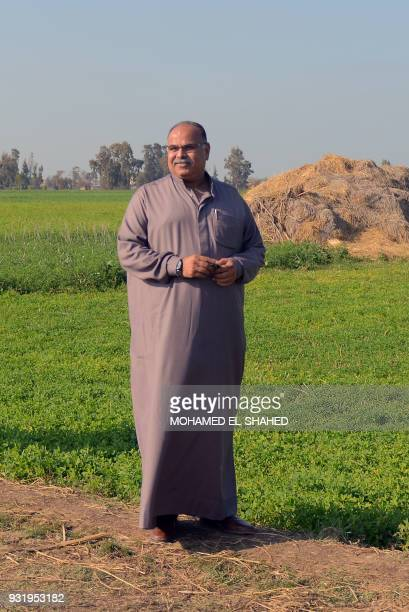 Maher Anwar Shtiyeh Mayor of the village of Nagrig in Egypt's central province of Gharbia in the Nile Delta where Liverpool's top scorer Mohamed...
