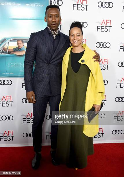 Mahershala Ali and Amatus SamiKarim arrive at the AFI FEST 2018 Presented By Audi Green Book Gala Screening at TCL Chinese Theatre on November 9 2018...
