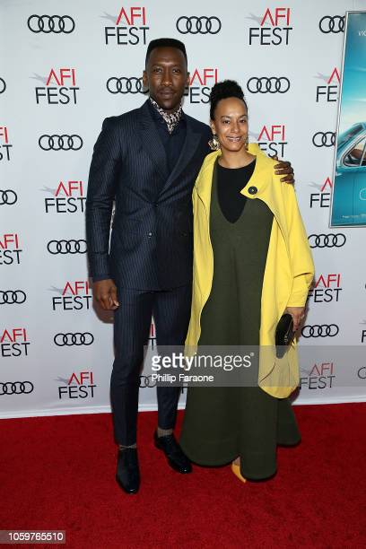 Mahershala Ali and Amatus SamiKarim attend AFI FEST 2018 presented by Audi Green Book Gala Screening at TCL Chinese Theatre on November 9 2018 in...