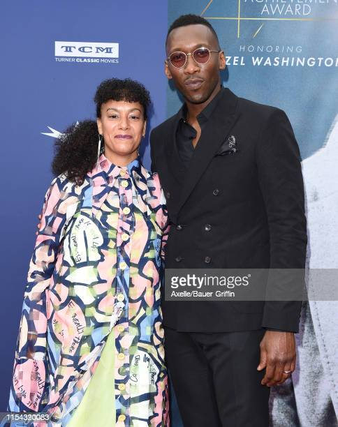 Mahershala Ali and Amatus SamiKarim attend the American Film Institute's 47th Life Achievement Award Gala Tribute to Denzel Washington at Dolby...