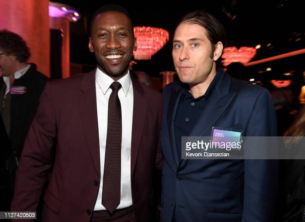 Mahershala Ali and Jeremy Kleiner attend the 91st Oscars Nominees Luncheon at The Beverly Hilton Hotel on February 04 2019 in Beverly Hills California