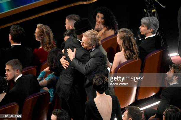 Mahershala Ali and Viggo Mortensen attend the 91st Annual Academy Awards at Dolby Theatre on February 24 2019 in Hollywood California