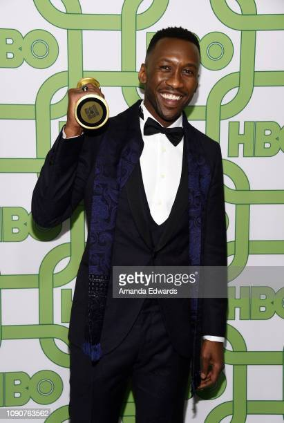 Mahershala Ali arrives at HBO's Official Golden Globe Awards After Party at Circa 55 Restaurant on January 06, 2019 in Los Angeles, California.