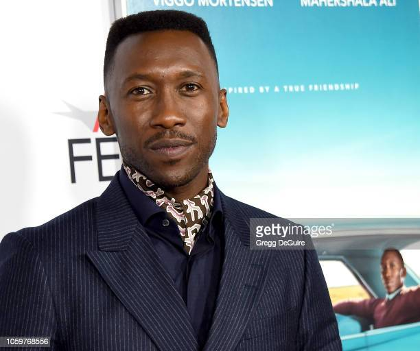 Mahershala Ali arrives at the AFI FEST 2018 Presented By Audi Green Book Gala Screening at TCL Chinese Theatre on November 9 2018 in Hollywood...