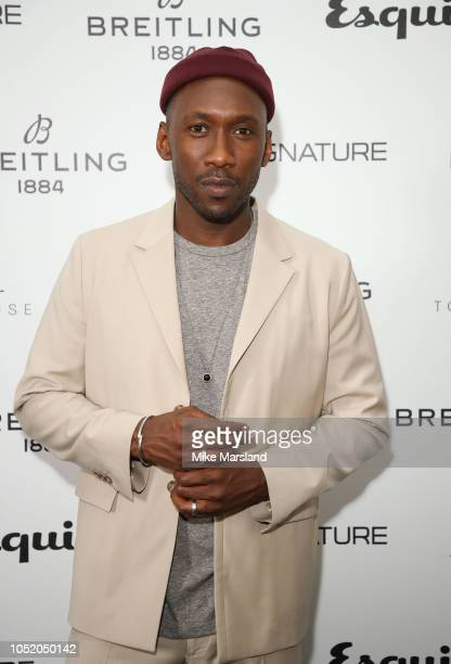 Mahershala Ali attends Esquire Townhouse in accation with Breitling at Esquire Townhouse on October 11 2018 in London England