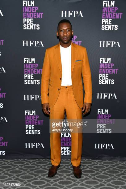 Mahershala Ali attends Film Independent Presents True Detective at Harmony Gold Theatre on February 04 2019 in Los Angeles California