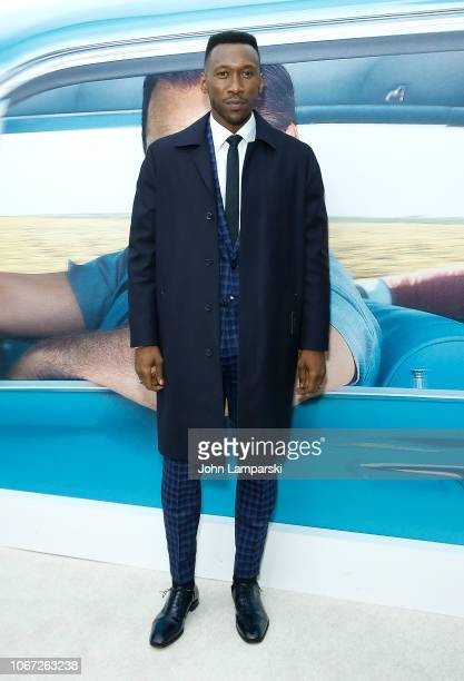 """Mahershala Ali attends """"Green Book"""" New York Premiere at Paris Theatre on November 13, 2018 in New York City."""