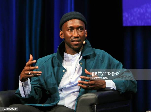 Mahershala Ali attends 'In Conversation WithMahershala Ali' during 2018 Toronto International Film Festival at Glenn Gould Studio at CBC on September...