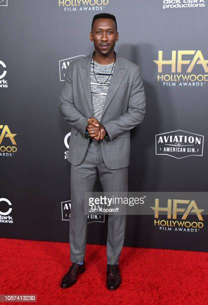 Mahershala Ali attends the 22nd Annual Hollywood Film Awards at The Beverly Hilton Hotel on November 4 2018 in Beverly Hills California