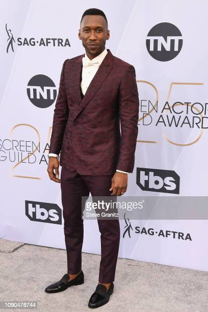 Mahershala Ali attends the 25th Annual Screen Actors Guild Awards at The Shrine Auditorium on January 27 2019 in Los Angeles California