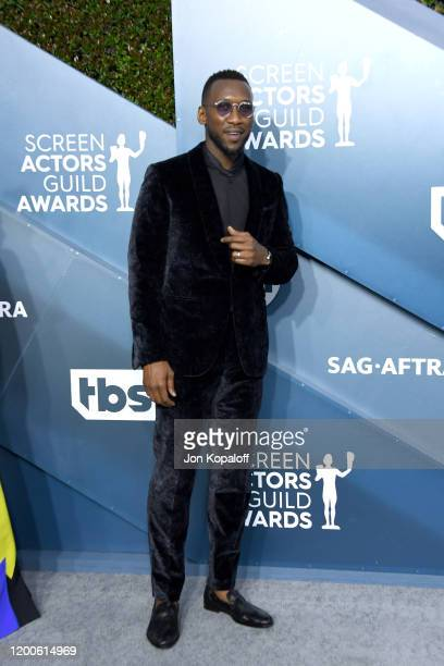 Mahershala Ali attends the 26th Annual Screen Actors Guild Awards at The Shrine Auditorium on January 19 2020 in Los Angeles California