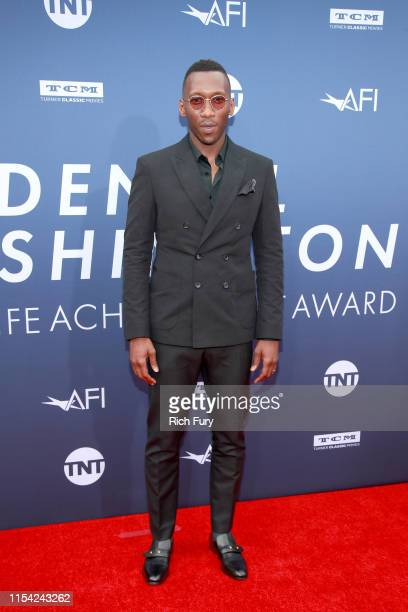 Mahershala Ali attends the 47th AFI Life Achievement Award honoring Denzel Washington at Dolby Theatre on June 06 2019 in Hollywood California