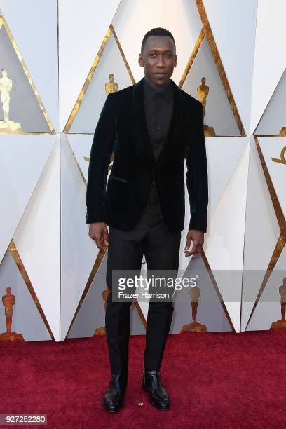 Mahershala Ali attends the 90th Annual Academy Awards at Hollywood Highland Center on March 4 2018 in Hollywood California