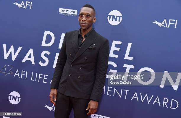 Mahershala Ali attends the American Film Institute's 47th Life Achievement Award Gala Tribute To Denzel Washington at Dolby Theatre on June 6, 2019...