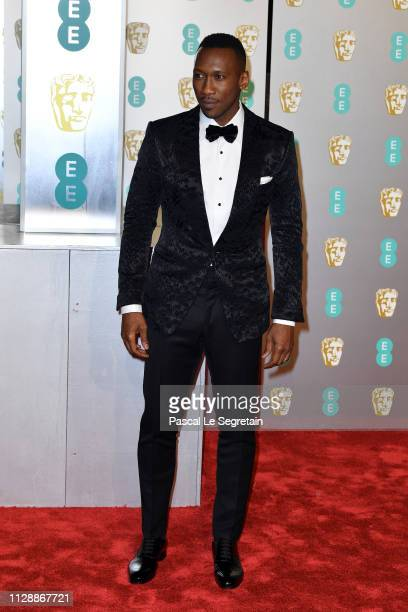 Mahershala Ali attends the EE British Academy Film Awards at Royal Albert Hall on February 10 2019 in London England