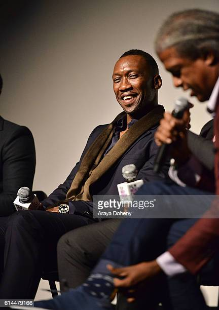 Mahershala Ali attends the Film Independent at LACMA screening and QA of Moonlight at LACMA on October 13 2016 in Los Angeles California