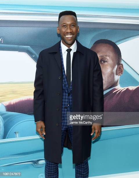 Mahershala Ali attends the Green Book New York Premiere at Paris Theatre on November 13 2018 in New York City