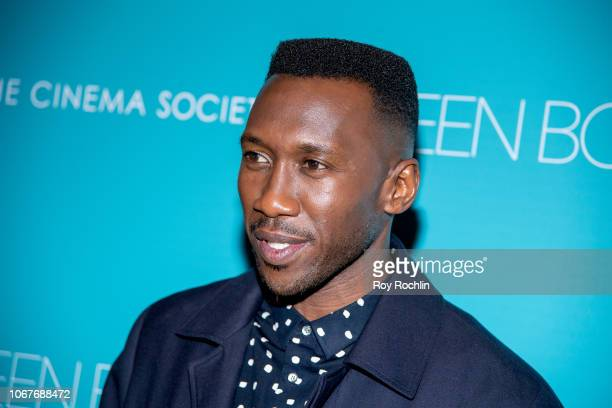 Mahershala Ali attends the Green Book New York Special Screening hosted by the Cinema Society at The Roxy Hotel Cinema on November 14 2018 in New...