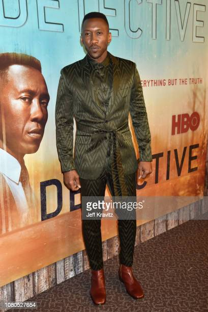 Mahershala Ali attends the HBO premiere of True Detective Season 3 at DGA Theater on January 10 2019 in Los Angeles California
