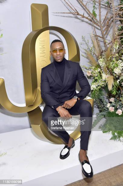 Mahershala Ali attends The Hollywood Reporter and Jimmy Choo Power Stylists Dinner at Avra Beverly Hills Estiatorio on March 12 2019 in Beverly Hills...