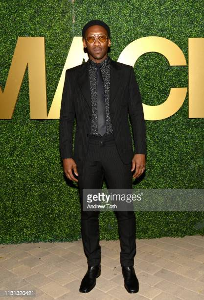 Mahershala Ali attends the MACRO PreOscar Party 2019 at Casita Hollywood on February 21 2019 in Los Angeles California