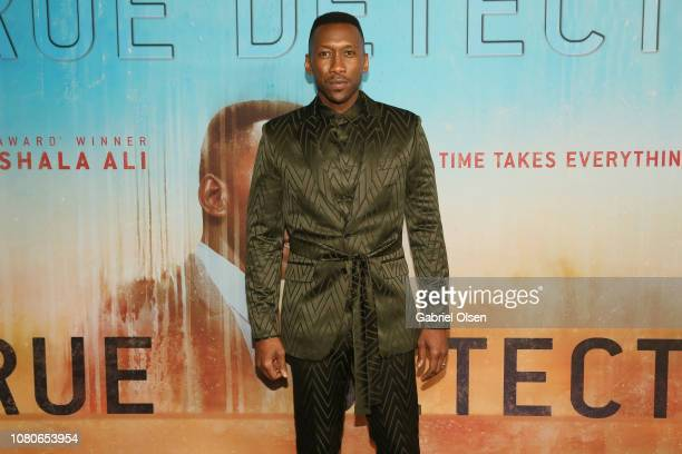 """Mahershala Ali attends the premiere of HBO's """"True Detective"""" Season 3 at Directors Guild Of America on January 10, 2019 in Los Angeles, California."""