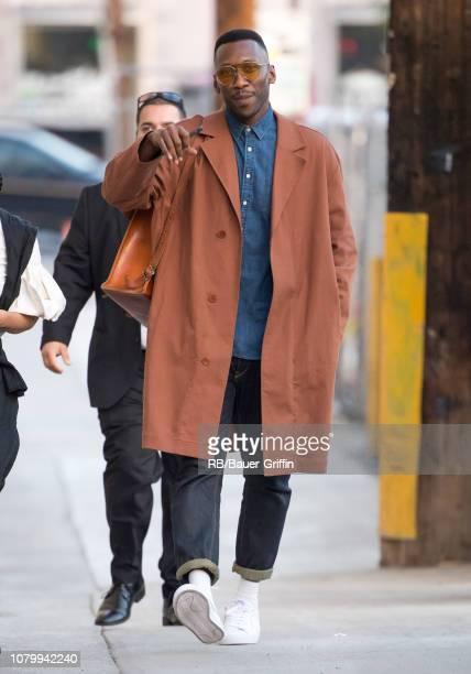Mahershala Ali is seen at 'Jimmy Kimmel Live' on January 09 2019 in Los Angeles California