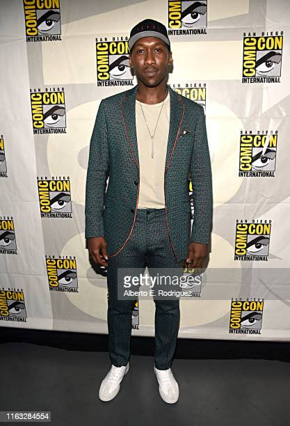 Mahershala Ali of Marvel Studios' 'Blade' at the San Diego Comic-Con International 2019 Marvel Studios Panel in Hall H on July 20, 2019 in San Diego,...