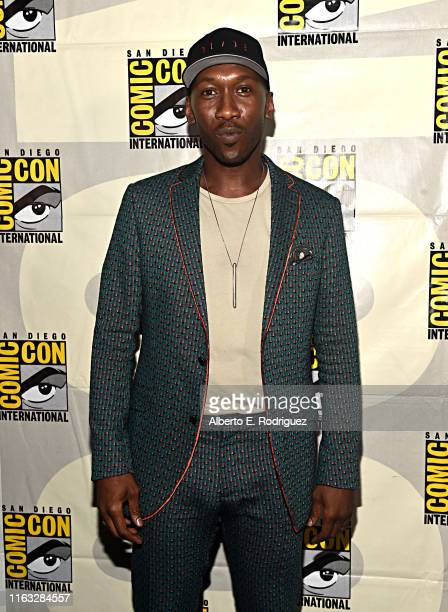 Mahershala Ali of Marvel Studios' 'Blade' at the San Diego ComicCon International 2019 Marvel Studios Panel in Hall H on July 20 2019 in San Diego...