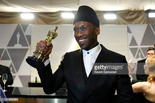 Mahershala Ali winner of the Actor in a Supporting Role award for 'Green Book' attends the 91st Annual Academy Awards Governors Ball at Hollywood and...