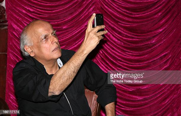 Mahesh Bhatt at the music launch of the film Aashiqui 2 in Mumbai on 8th April 2013