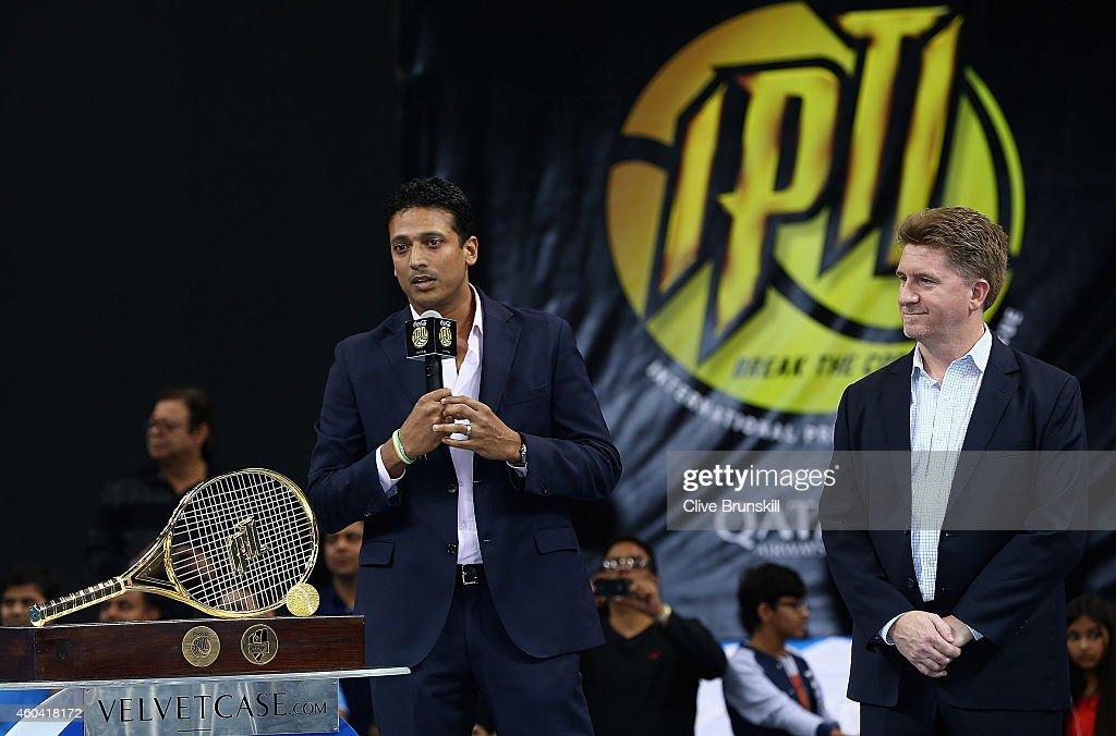 Coca-Cola International Premier Tennis League - United Arab Emirates: Day Three : News Photo
