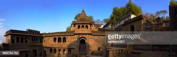 Maheshwar Fort full view from inside