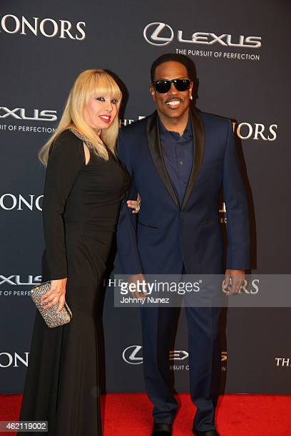 Mahin Wilson and Charlie Wilson attend The 2015 BET Honors Awards at Warner Theatre on January 24 in Washington DC