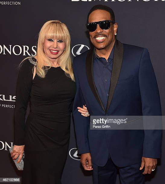Mahin Wilson and recording artist Charlie Wilson attend 'The BET Honors' 2015 at Warner Theatre on January 24 2015 in Washington DC