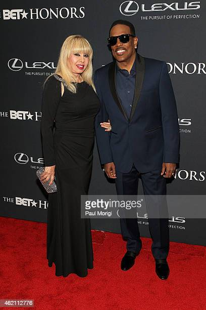 Mahin Wilson and singer Charlie Wilson attend the 2015 BET Honors at the Warner Theatre on January 24 2015 in Washington DC