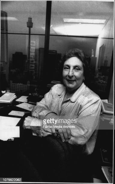 Mahla Pearlman at work in her city officeThe first female president of the Law Council of Australia in its 50year history found herself from Day One...