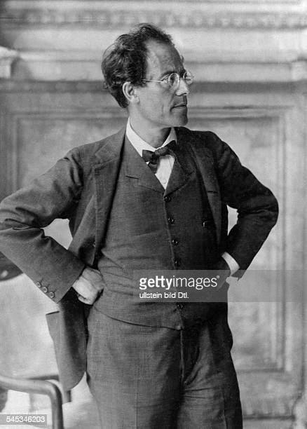 Mahler Gustav *07071860Komponist Dirigent Oesterreich Halbportrait undatiert Foto Moritz Naehr