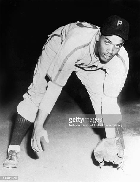 Mahlon Duckett poses while playing with the Philadelphia Stars in the Negro Leagues circa 1940-1949.